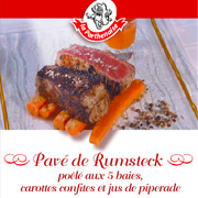 pave rumsteack parthenaise